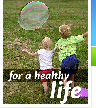 Healthy lifestyles living for kids