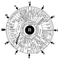 The iridology Eye Chart is real helpful with eye exams